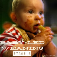 Eating with Baby-Led Weaning: Stage 2