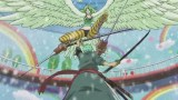 In what episode did Zoro fight Monet? [One Piece]
