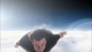 In what episode does Clark fly? [Smallville]