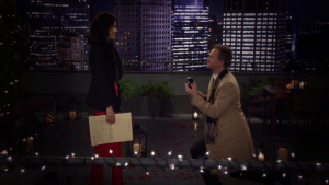 Barney Proposing to Robin