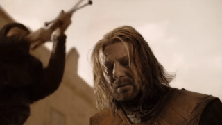 In what episode does Eddard  'Ned' Stark die? [Game of Thrones]