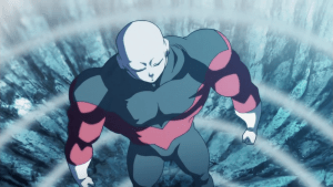 Jiren Pushing spirit bomb