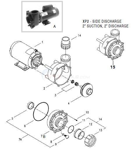 AquaFlo XP & XP2 Parts  INYOPools
