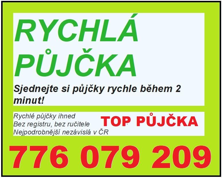 Rychlá půjčka bez registru 776079209 « Inzerce.