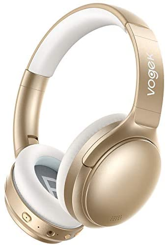 You are currently viewing Hybrid Active Noise Cancelling Headphones, VOGEK Wireless Over Ear Bluetooth Headsets with Deep Bass, Hi-Fi Sound, 45H Playtime for Adults Travel Work Home Office Online Class