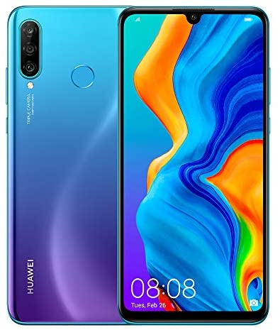 Read more about the article Huawei P30 Lite New Edition 256GB Handy, blau/violett, Peacock Blue, Android 9.0