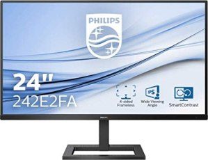 Philips 242E2FA 60 cm (23.8 Zoll) Gaming Monitor (HDMI, DisplayPort, 4ms Reaktionszeit, 1920 x 1080, 75 Hertz, FreeSync) schwarz