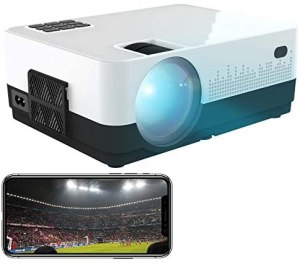 SceneLights WiFi Beamer: LED-LCD-Beamer mit WLAN, Mediaplayer, 1280 x 720 (HD), 2.000 lm, 12 W (Beamer HDMI)