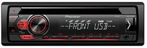 PIONEER DEH-S111UB Next Generation 1-DIN CD Tuner with RDS Tuner, CD, USB and Aux-In