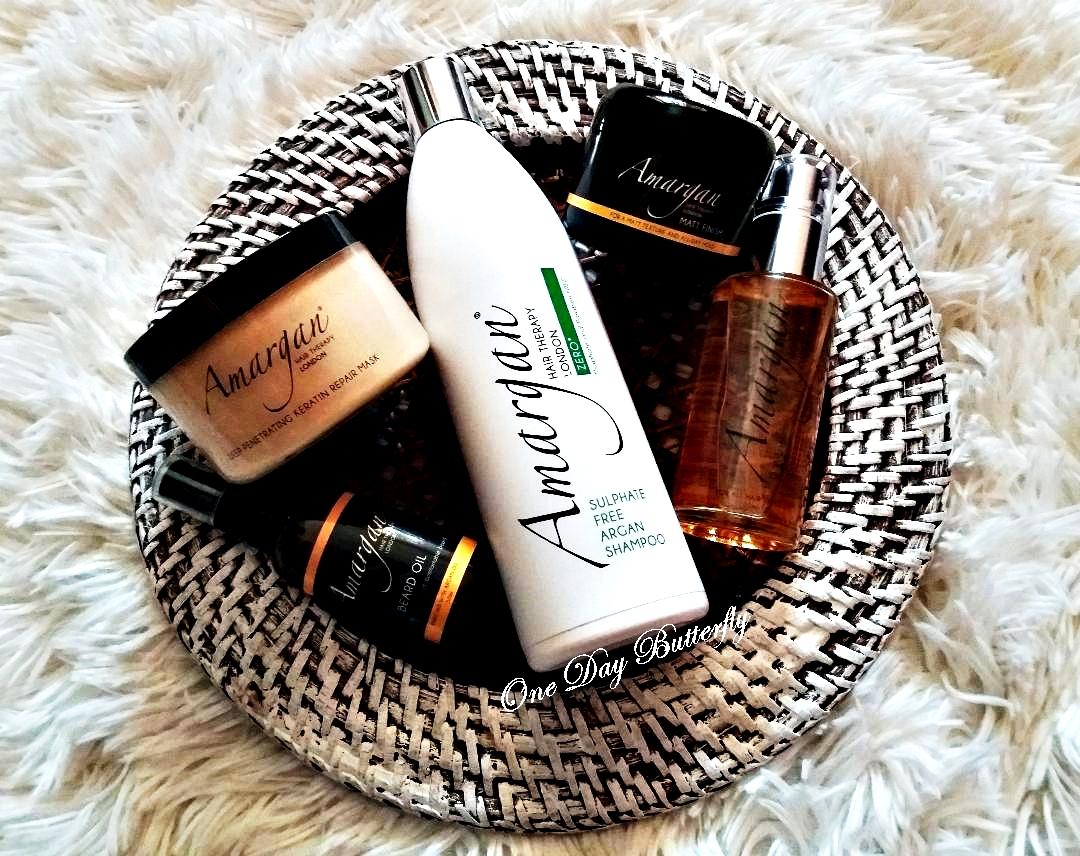 Îngrijirea părului cu produse Amargan Hair Therapy