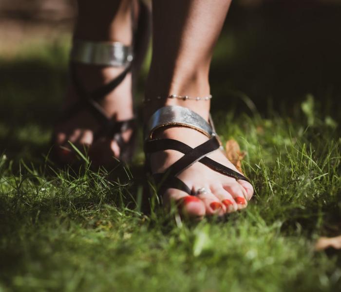 Sandale din piele naturală FUNKYFAIN.ro