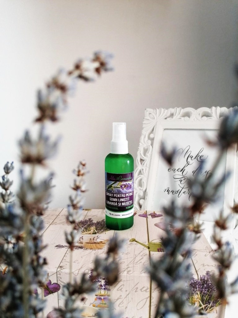 Alu Lavanda spray perna