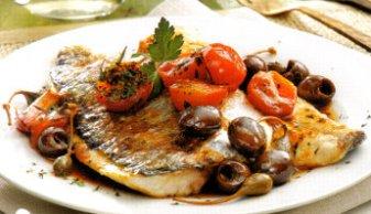Ricette Dietetiche E Veloci Pesce Ricetta Orata Mediterranea Un