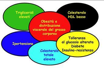 Sintomi sindrome metabolica sovrappeso colesterolo for Sintomi pressione alta