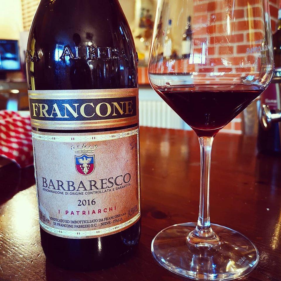 FRANCONE BARBARESCO 'I PATRIARCHI' 2016