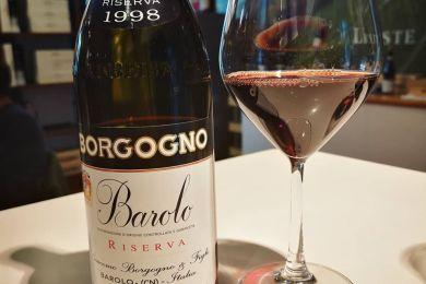 BORGOGNO BAROLO RISERVA 1998