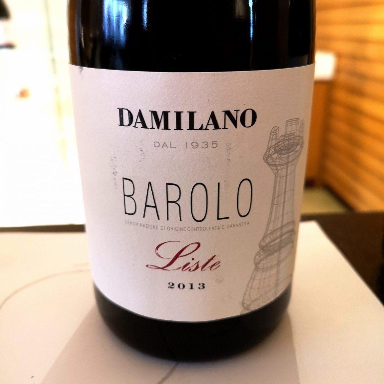 DAMILANO BAROLO LISTE 2013