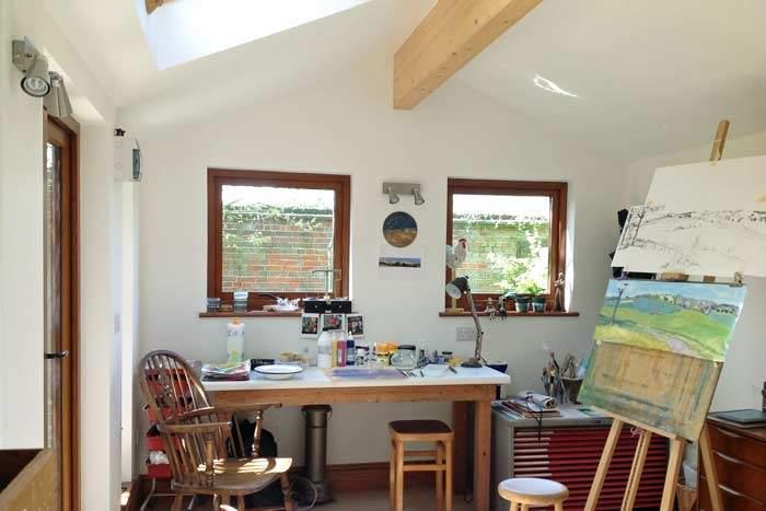 Two Garden Studios In Hampshire