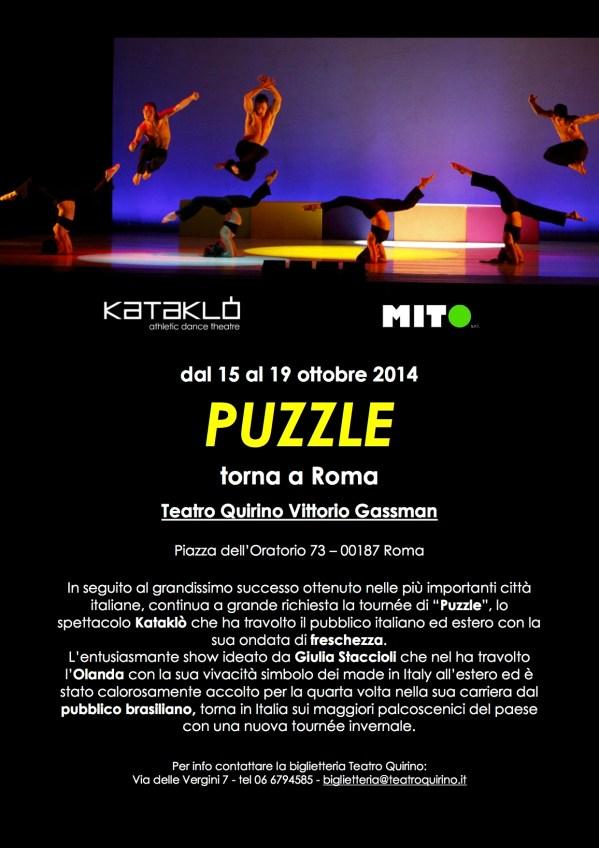 Puzzle – dal 15 al 19 ottobre torna al Teatro Quirino ...