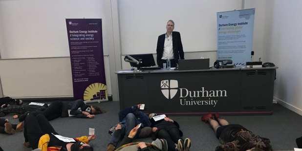 Durham University protest