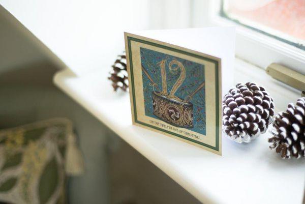 Twelve Days Of Christmas Christmas Cards Isle Of Man