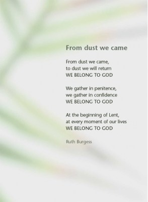 From dust we came