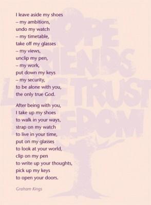 The Prayer Stool