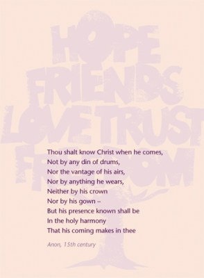 Thou shalt know Christ