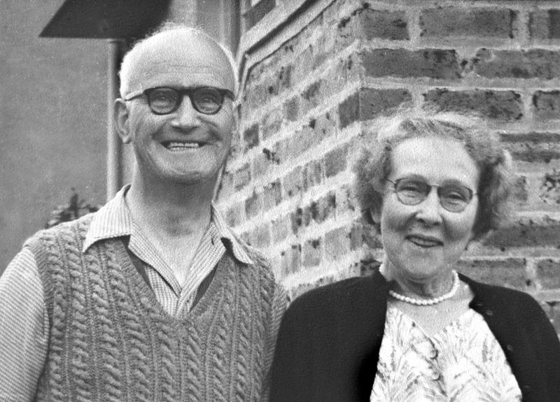 Alex and Barbara Hislop (Joe Hislop archive)