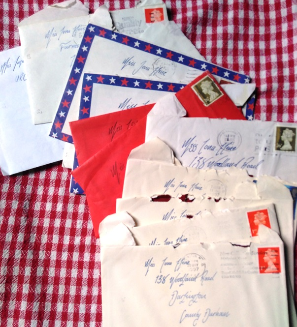 Letters from MEBruce