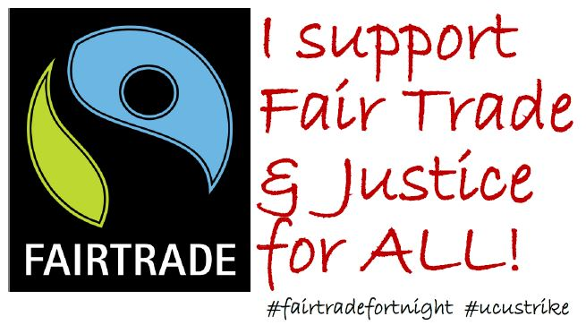 I support Fair Trade and Justice for All.