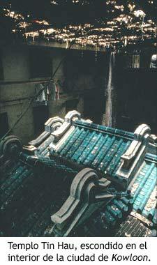 Templo Tin Hau, escondido en el interior de Kowloon