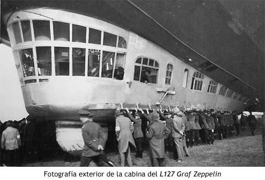 Fotograf�a exterior de la cabina del L127 Graf Zeppelin