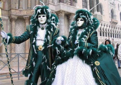 Carnaval de Venecia - Disfraces de Carnaval