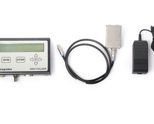 PUL03 Nanosecond Pulser Cables and Mains Adapter