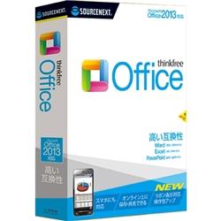 ソースネクスト 153780 ThinkFree Office (Microsoft Office 2013対応版)