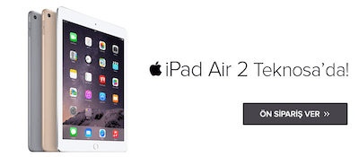 iPad Air 2 Teknosa