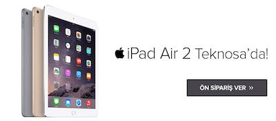 iPad Air 2 Teknosa