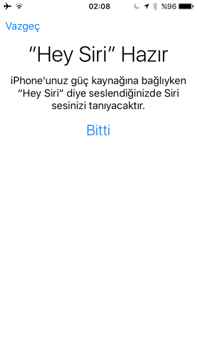 Hey Siri Hazır