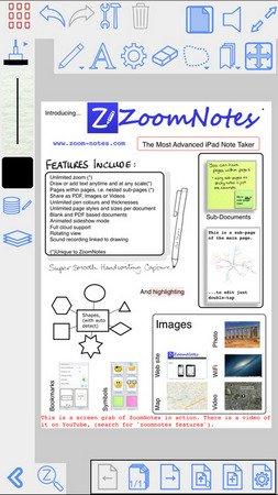 ZoomNotes ios