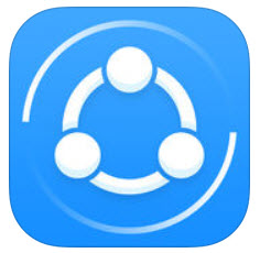 shareit file transfer app icon
