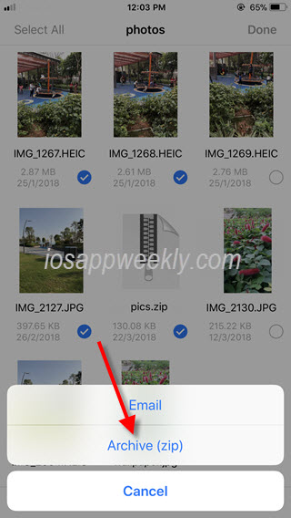 How to zip and unzip files on iPhone? – iOS App Weekly