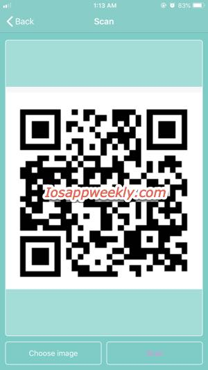 Scan QR code from image on iPhone – iOS App Weekly