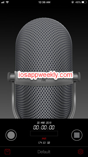 awesome voice recorder pro iphone