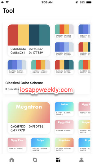colorcard tools for iphone