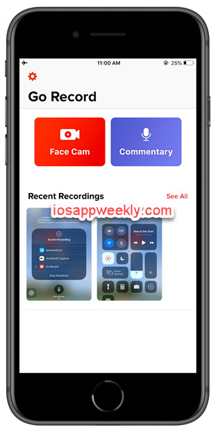 Go Record: Screen Recorder for iPhone