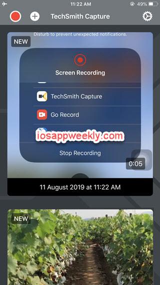 TechSmith Capture iphone