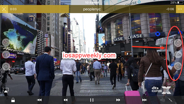 nplayer for iphone video playback speed control