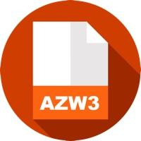 azw3 book format icon
