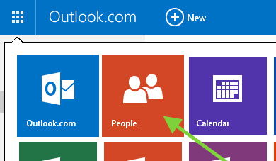 access hotmail contacts